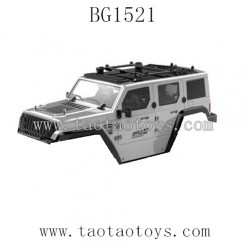 Subotech BG1521 Parts-Car Body Shell Gray color