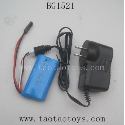 Subotech BG1521 Parts-7.4V Battery and Charger