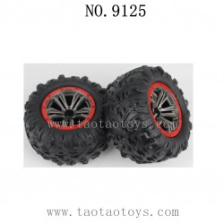 XINLEHONG Toys 9125 RC Truck Parts-Tire 25-ZJ02