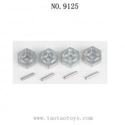 XINLEHONG Toys 9125 Parts-Aluminum Alloy Wheel Hub Hex 25-ZJ09