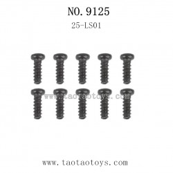 XINLEHONG Toys 9125 Parts-Round Headed Screw 25-LS01