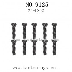 XINLEHONG Toys 9125 Parts-Round Headed Screw 25-LS02