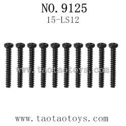 XINLEHONG Toys 9125 Parts-Round Headed Screw 15-LS12