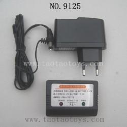 XINLEHONG Toys 9125 Parts-Charger 25-DJ03 and Box