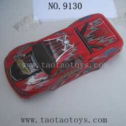XINLEHONG Toys 9130 RC Truck Parts-Car Shell-Red 30-SJ01