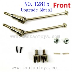 HBX 12815 Upgrade Parts-Front Metal Drive Shafts
