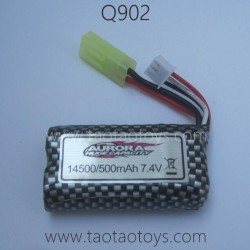 XINLEHONG TOYS Q902 RC Truck Parts-Battery 7.4V 500mAh