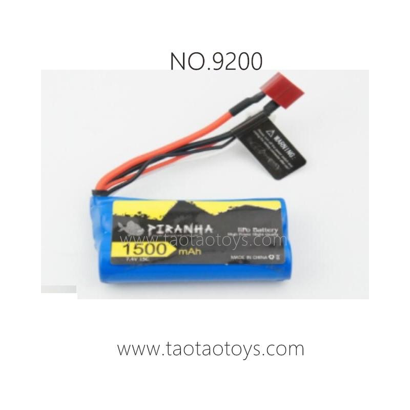 PXTOYS 9200 PIRANHA Parts-Battery 7.4V 1500mAh