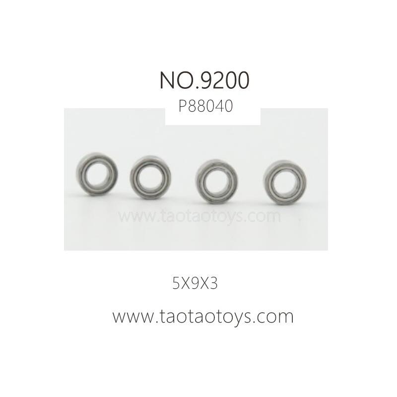 PXTOYS 9200 PIRANHA Parts-Ball Bearing P88040
