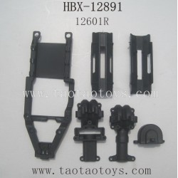 HBX 12891 Parts-Gear Box Housing+Battery Cover 12601R