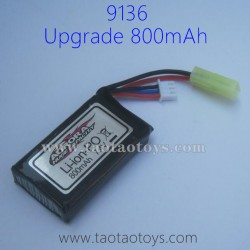 XINLEHONG TOYS 9136 Upgrade Parts-Battery 7.4V 800mAh