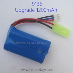 XINLEHONG TOYS 9136 Upgrade Battery 1200mAh