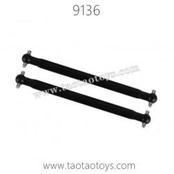 XINLEHONG TOYS 9136 Parts-Rear Dog Bone Plastic