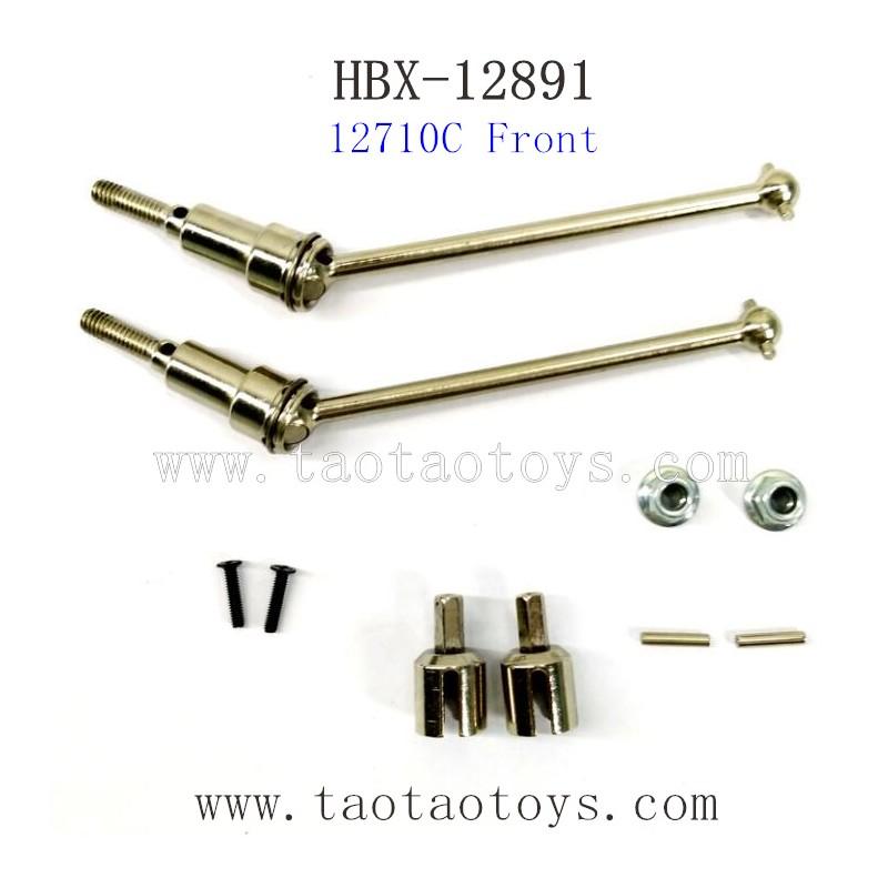 HBX 12891 Dune Thunder Parts-Front Drive Shafts