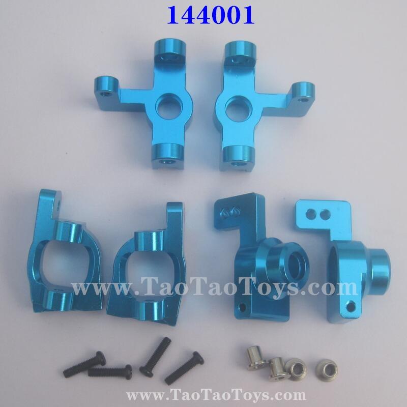 WLTOYS 144001 Upgrade Metal Kit, Wheel Seat and C-Type Seat