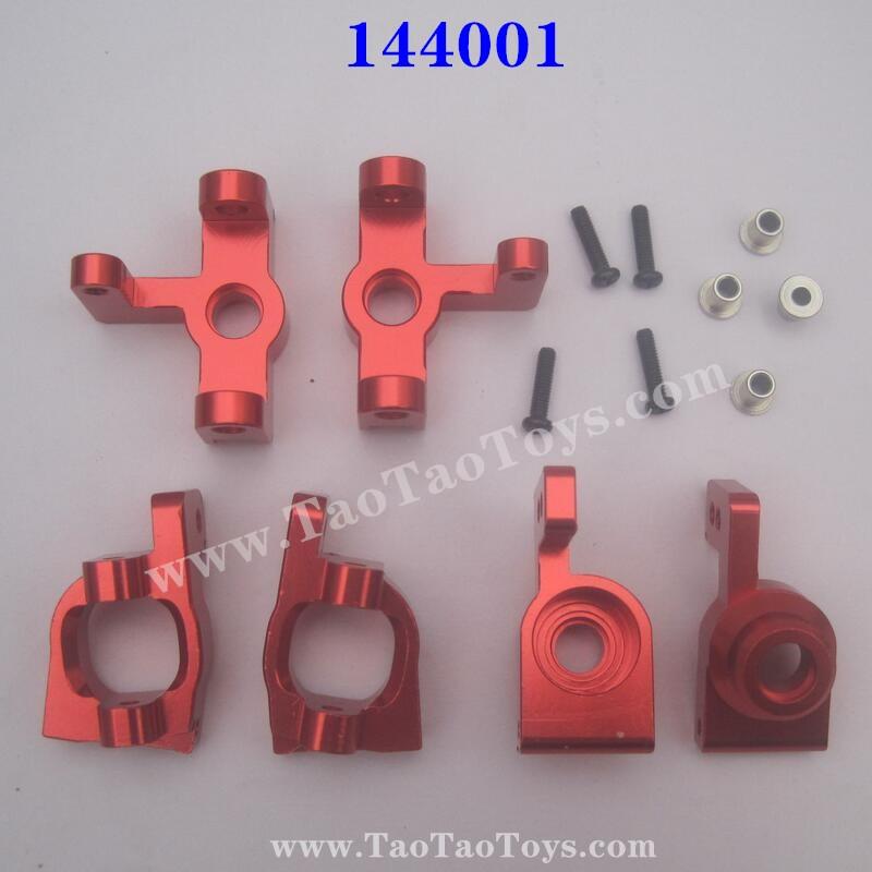 WLTOYS XK 144001 Upgrade Metal Parts Wheel Seat and C-Type Seat Red