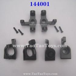 WLTOYS 144001 Upgrade Parts Wheel Seat and C-Type Seat Black