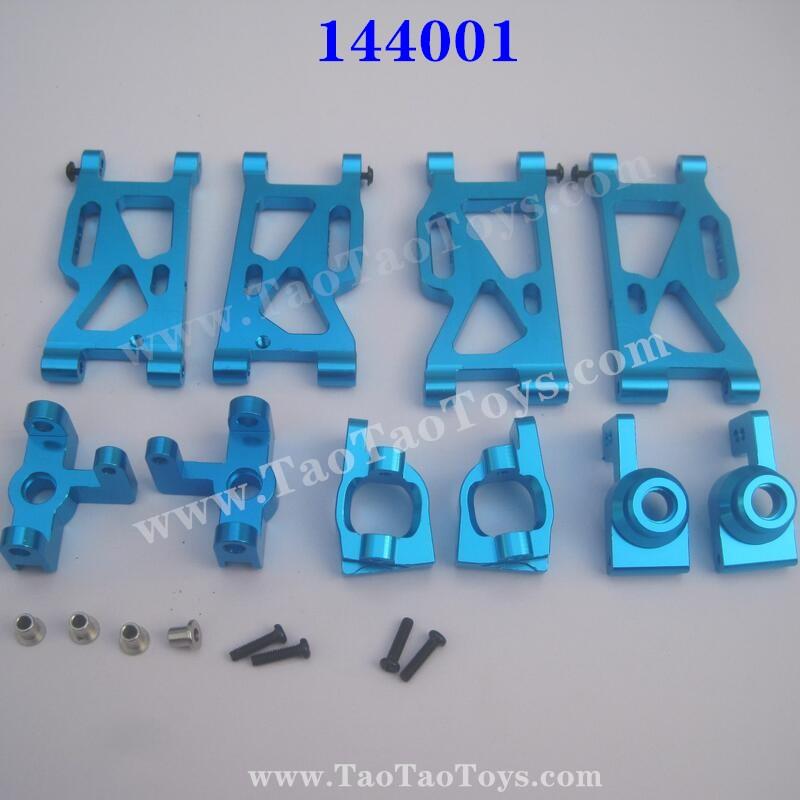 WLTOYS 144001 Upgrade Parts Swing Arm + Wheel Seat + C-Type Seat