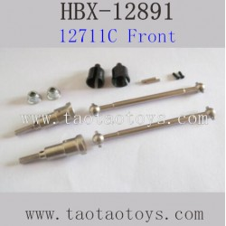 HBX 12891 Parts-Rear Metal Drive Shafts
