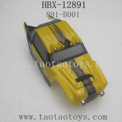 HBX 12891 Parts-Car Shell Yellow