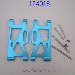 WLTOYS 124018 Upgrade Parts Front Swing Arm with Pins