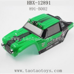HBX 12891Parts-Car Shell Green