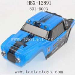HBX 12891 Parts-Car Shell Blue 891-B003