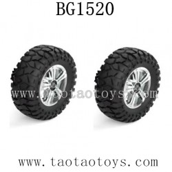 SUBOTECH BG1520 Guard Truck Parts-Wheels Complete